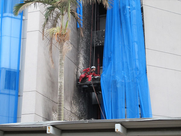 Chemical Disaster Recovery in Singapore | Rope Access in Recovery Location