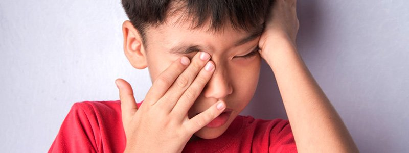 The Health Effects Of Mold On Children: Eye Irritation